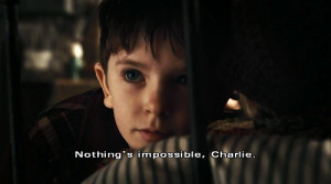 ... factory, impossible, movie, nothing, nothing is impossible, quotes