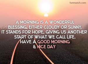 Good Morning Ments Facebook...