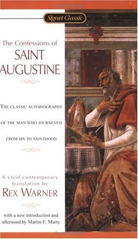"""... by marking """"The Confessions of St. Augustine"""" as Want to Read"""