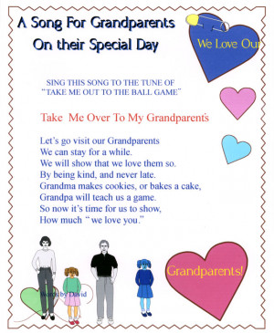 ... to your grandparents through some thank - you poems / poetry