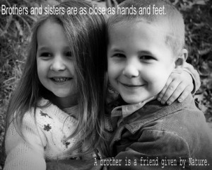 Cute Brother and Sister Quotes and Sayings Pictures for Living Room ...