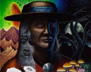 Yaqui Indian Medicine Man Don Juan Carlos Castaneda Psychedelic ...