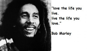 Bob Marley Inspiration Quotes