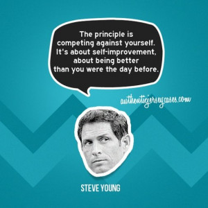 Sports Quotes / www.asportinglife.co - Steve Young Quote