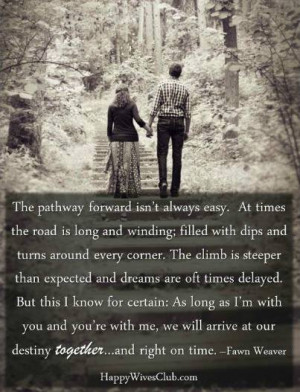 The pathway forward