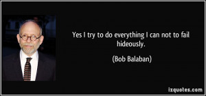 More Bob Balaban Quotes