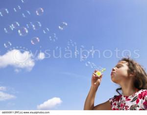 Back Bubbles Pictures Blowing