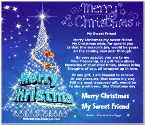 merry christmas quotes for friends