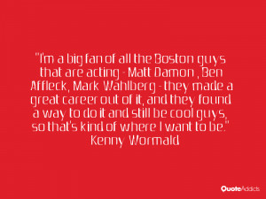 Kenny Wormald Quotes