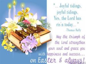 Joyful Tidings, Joyful Tidings, Yes, The Lord Has Ris'n Today. May ...