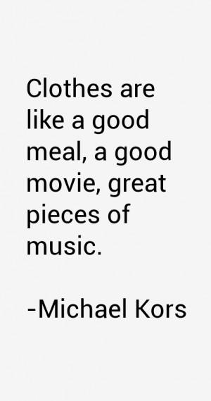 Michael Kors Quotes & Sayings