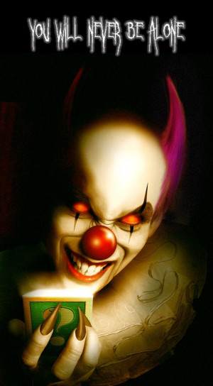 Evil Clown by legio photoshop resource collected by psd-dude.com from ...