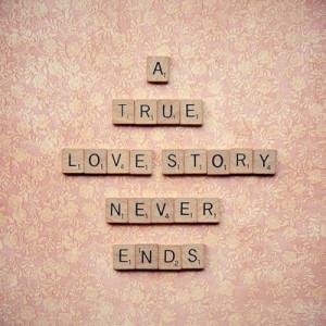 一个真实的爱情故事,永远不会结束