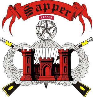 Army Engineer Sapper Logo