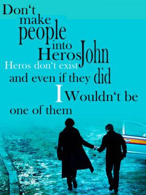 Sherlock on BBC One sherlock and john
