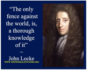 John Locke, Some Thoughts Concerning Education, A fence around the ...