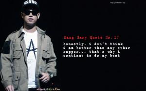 Kang Gary Quotes & Trivia   LeeSsang Part 5