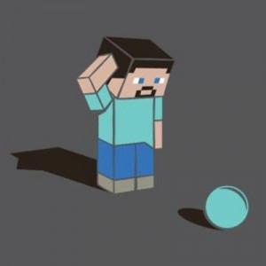 minecraft ball :D