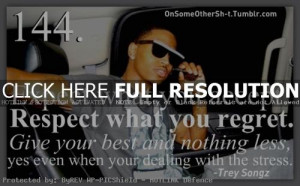 Trey Songz Quotes And Sayings Trey songz quo.
