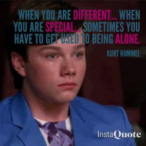 Kurt Hummel Quote