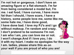 Not Hot or Gorgeous....