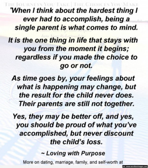single mom with daughters quotes