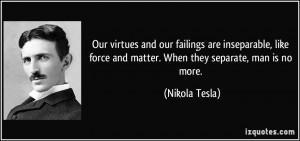 More Nikola Tesla Quotes