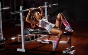 Beauty Gym Girl Workout Wallpapers, Girl Workout Fitness