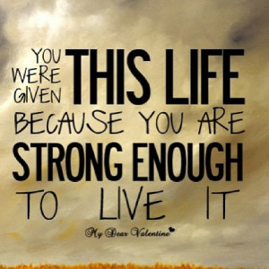 Motivation Picture Quote Live Your Life
