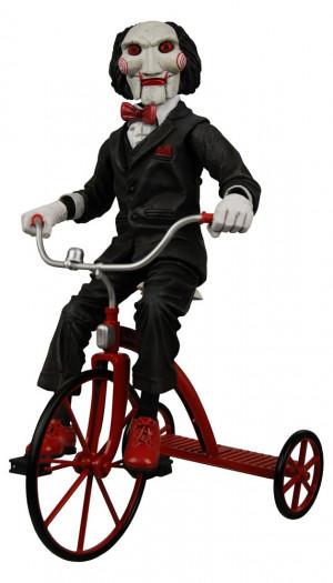 Saw Jigsaw Puppe auf Dreirad 30cm - Vorschau 2