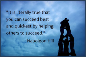 Help Others To Succeed