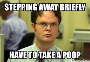 Generate a meme using Dwight Schrute