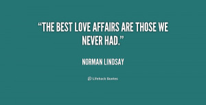 Quotes About Love Affairs