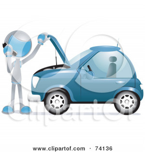 Stock Illustration Cartoon Old Broken Down Car Php