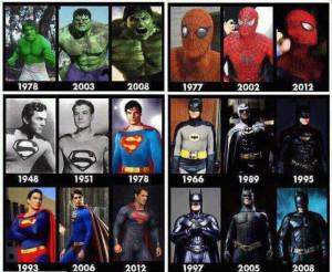 SUPER HERO EVOLUTION!