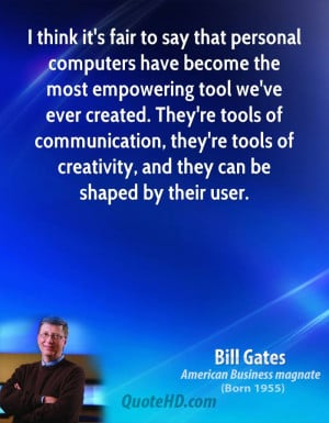 Bill Gates Computers Quotes