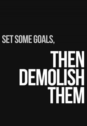 Motivational Quote: Set Some Goals