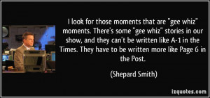 More Shepard Smith Quotes