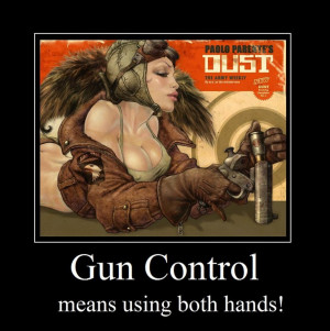 GunControl Motivational Poster by Kesdiodrick