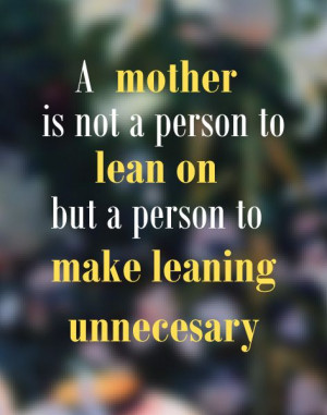 Sentimental Mother Quotes from Daughter