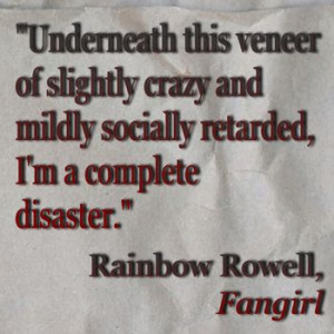 My Friend, Fangirl Books, Ya Quotes, Rainbows Rowel Quotes, Fangirl ...