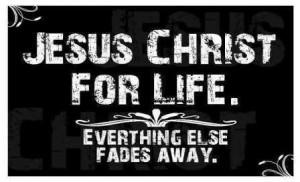 Jesus Christ For Life: Jesus Christ For Life ~ Spiritual Inspiration