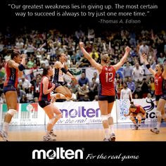 Volleyball #Motivation ! -with USA Volleyball More