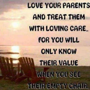 sure do miss my parents. Don't think this is spiritual? Read over ...