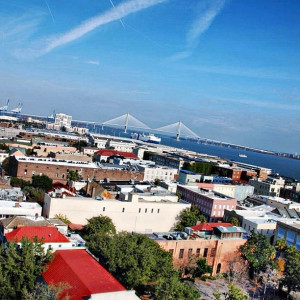 Skyline Downtown Charleston