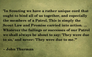The Patrols' Common Ground