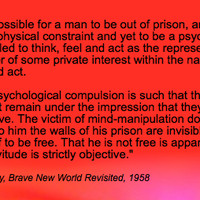brave new world photo: Aldous Huxley,