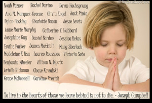 Day of Silence In Honor of Sandy Hook Elementary