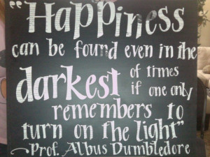 Harry Potter quote cut from pages from the book by Anti-SparklyVampire