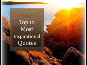 ten most inspiring quotes of q